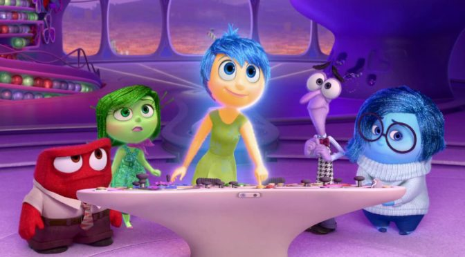 Inside Out – a study of emotions by Pixar